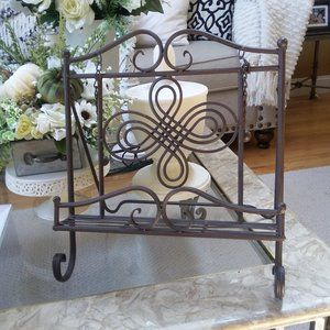 FARMHOUSE Metal COOKBOOK Stand EASEL